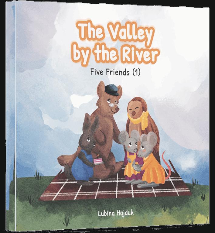 Livre pour enfants  - La vallée au bord de la rivière