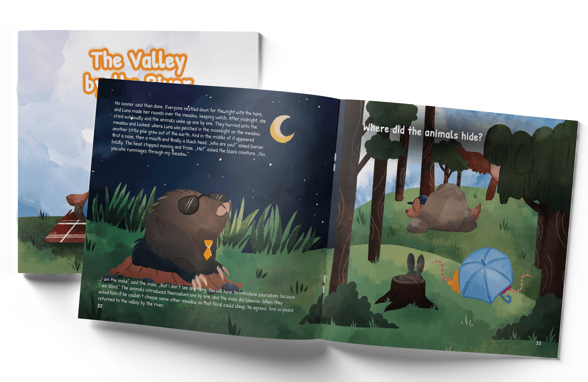 El valle junto al río - Nuevo libro infantil